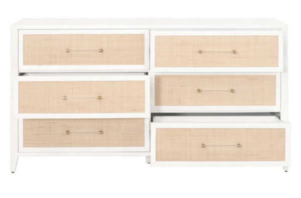 Holly Six Drawer Double Dresser