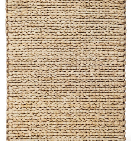 Woven Jute Rug in Natural
