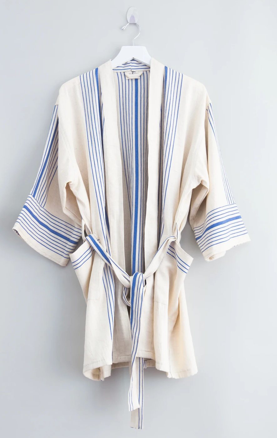Royal Bare Hudson Short Bathrobe