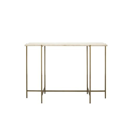 """AARON"" Bronze Console Table"
