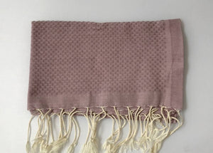 Guest towel, Dusty Rose