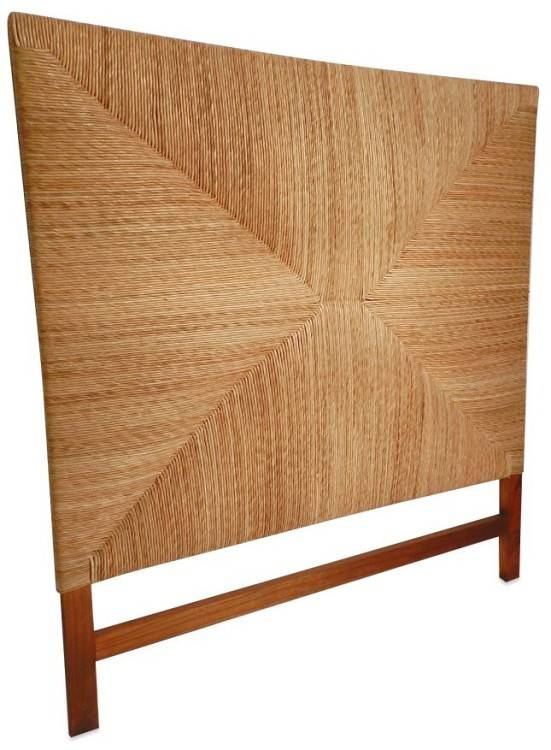 "Queen Hampton Rush Headboard 64""H"