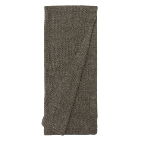 Lanier linen Throw, Loden