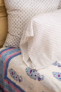 KC Standard Pillow Case Dove Stripe
