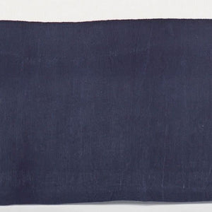 Stone Washed Linen Indigo Tailored Paneled Bed Skirt King
