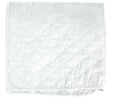 Quilted Coverlet - Bleach White - King