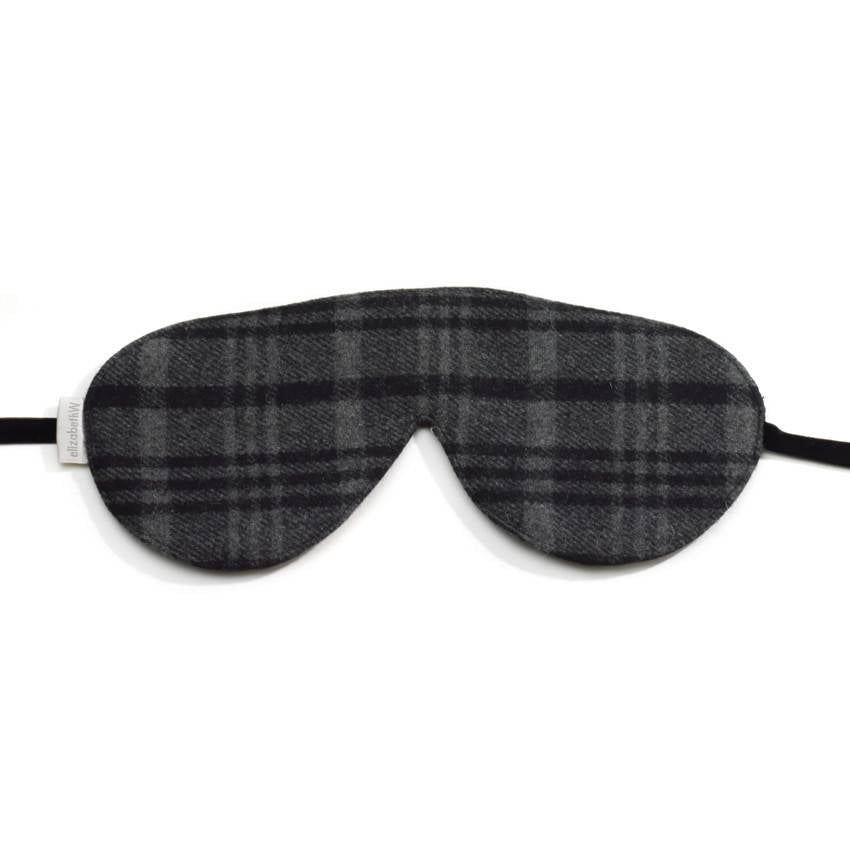 EW Sleep Mask Wool Tartan