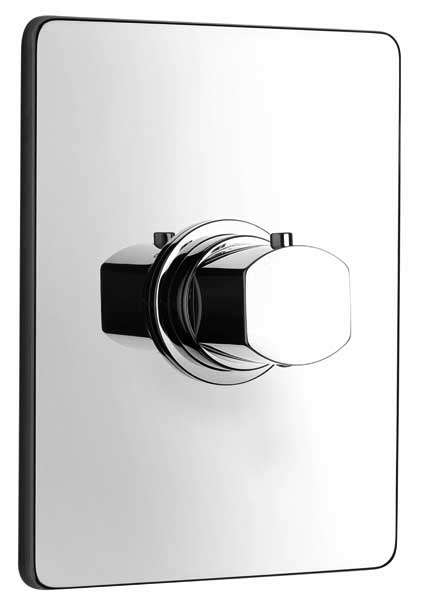 Jewel Faucets High Flow Thermostatic  Valve Body and J15 Series Chrome Trim, 15711RIT