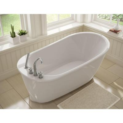 Sax 5 ft. Freestanding Bath Tub 105823 4