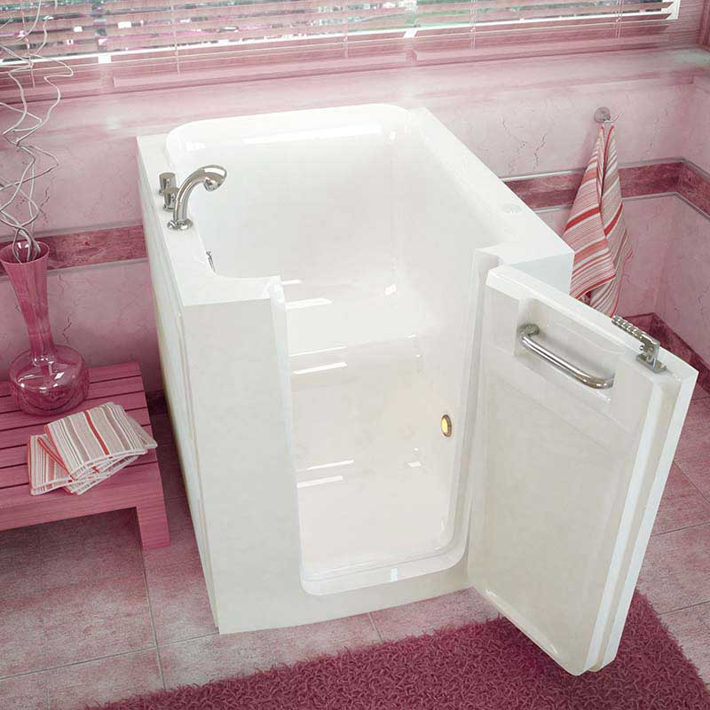 Venzi 32x38 Right Door White Soaking Walk In Bathtub By Meditub
