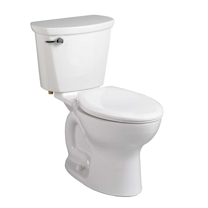 American Standard 215CA104.020 Cadet Pro 2-piece 1.28 GPF Elongated Toilet in White