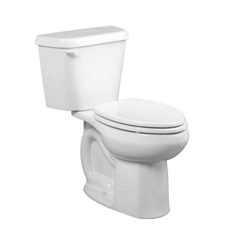 American Standard 221CA004.020 Colony 2-piece 1.6 GPF Elongated Toilet in White