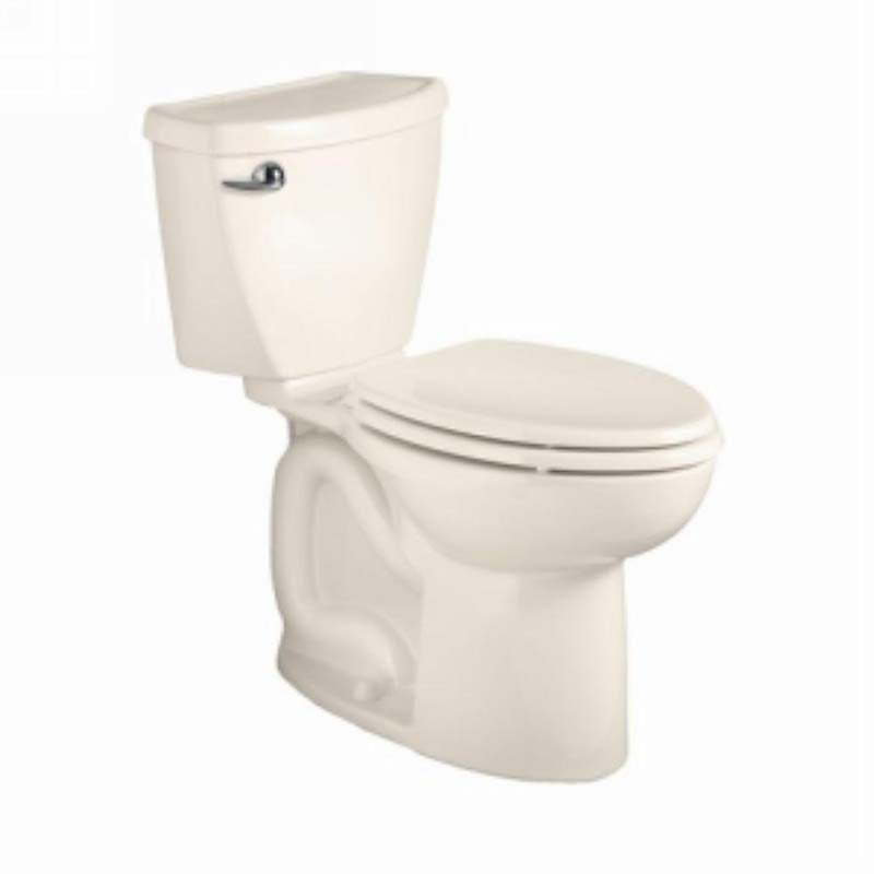 "American Standard 270AB101.222 Cadet 3 Powerwash Right Height 10"" Rough 2-piece 1.28 GPF Elongated Toilet in Linen"