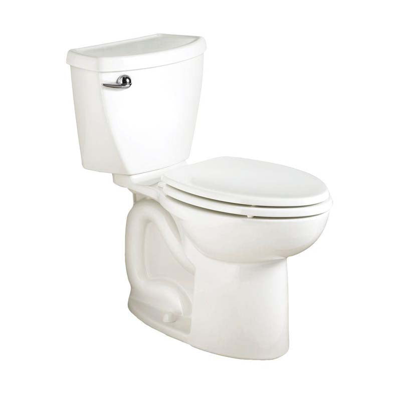 American Standard 270CA001.020 Cadet 3 Powerwash 2-piece 1.6 GPF Elongated Toilet in White