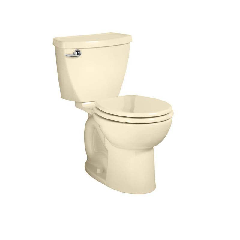 American Standard 270DB101.021 Cadet 3 Powerwash 2-piece 1.28 GPF Round Toilet in Bone