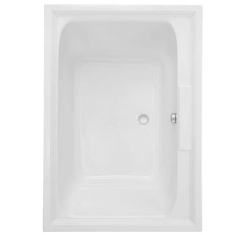 American Standard 2748.068C.011 Town Square EverClean 5 ft. Air Bath Tub in Arctic