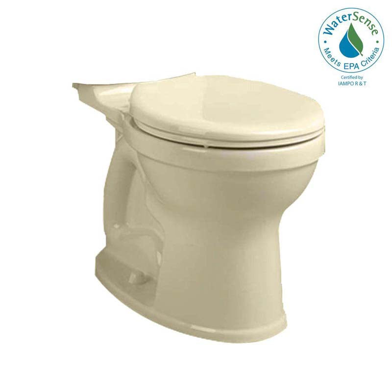 American Standard 3395B.001.021 Champion 4 Right Height Round Toilet Bowl Only in Bone
