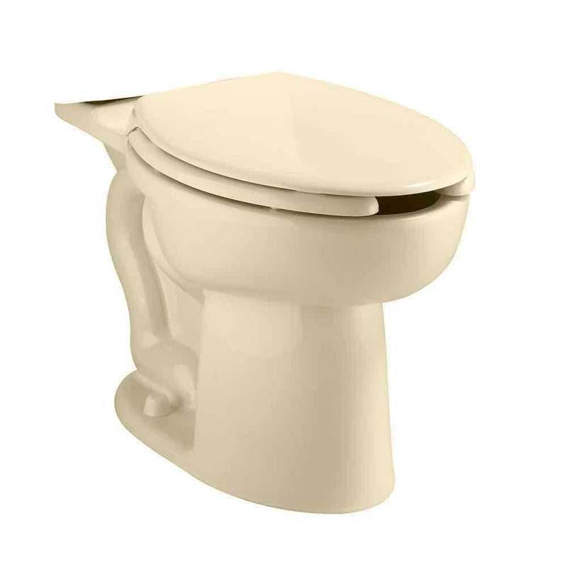 American Standard 3483.001.021 Cadet Right Height Elongated Pressure Assisted Toilet Bowl Only in Bone