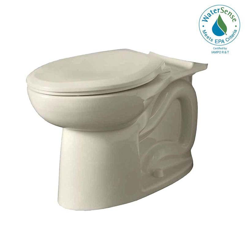 American Standard 3717C.001.222 Cadet 3 FloWise Elongated Toilet Bowl Only in Linen