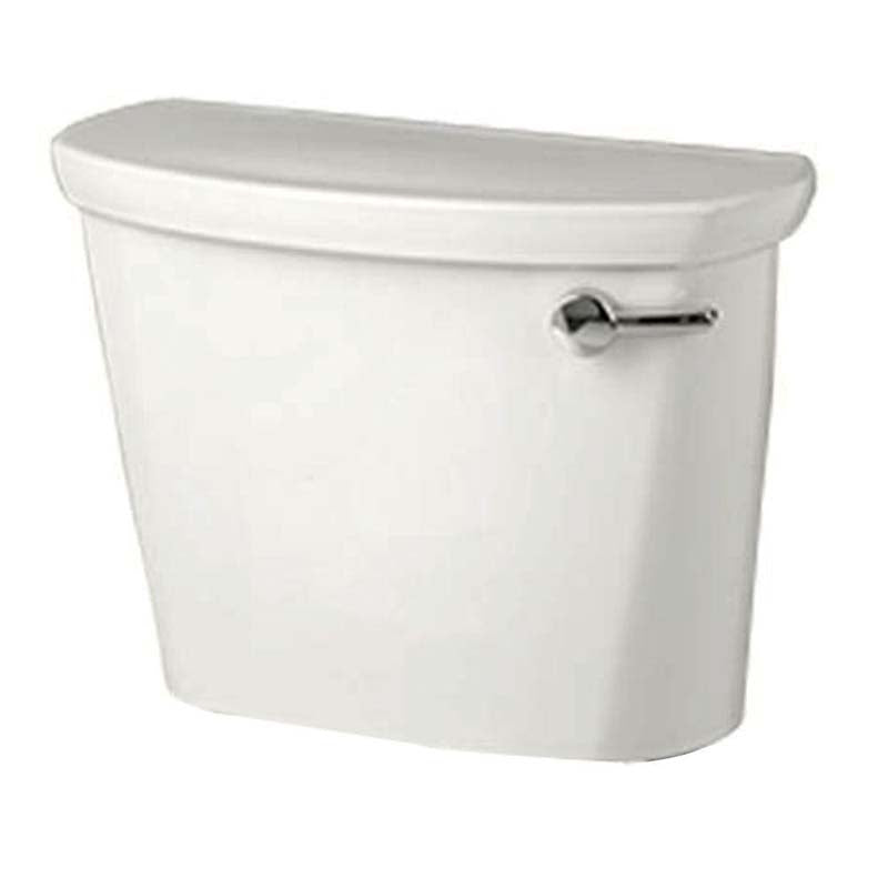 "American Standard 4188A.105.020 Cadet Pro 12"" Rough Toilet Tank Only with Right Hand Trip Lever in White"
