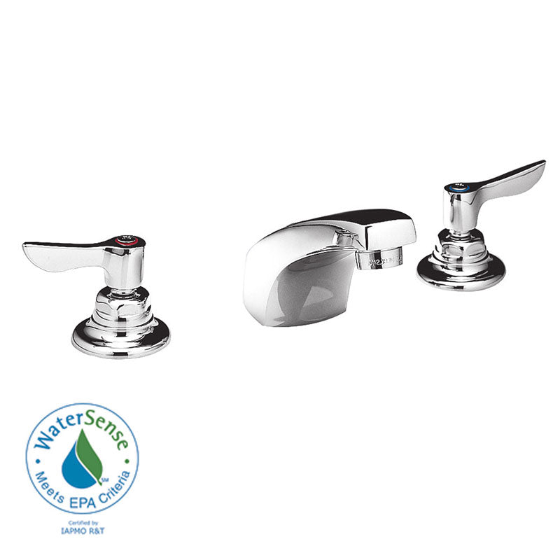 American Standard Monterrey Widespread Bathroom Faucet with Double Lever Handles