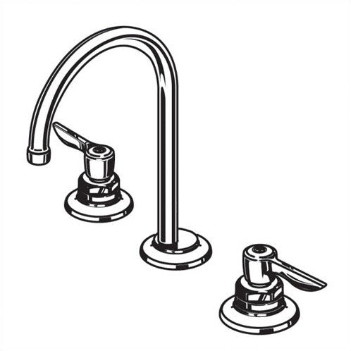 American Standard Monterrey Widespread Bathroom Faucet with Double Handles 2