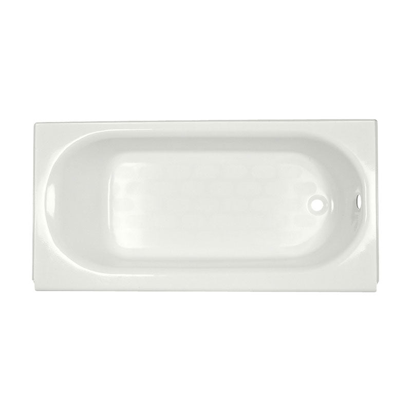 "American Standard Princeton 60"" x 34"" Luxury Ledge Bathtub with Integral Overflow"