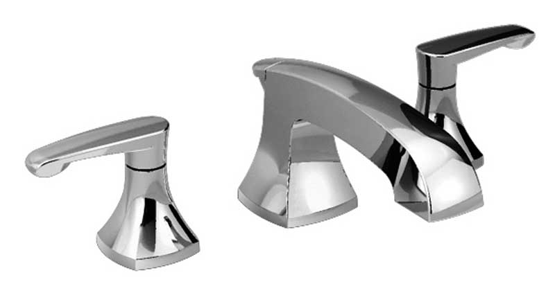 American Standard Copeland Widespread Bathroom Faucet with Double Lever Handles