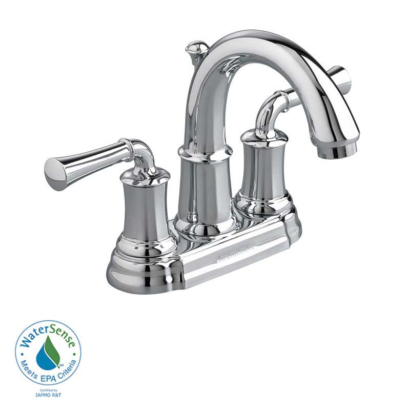 American Standard Portsmouth Centerset Bathroom Faucet with Double Lever Handles