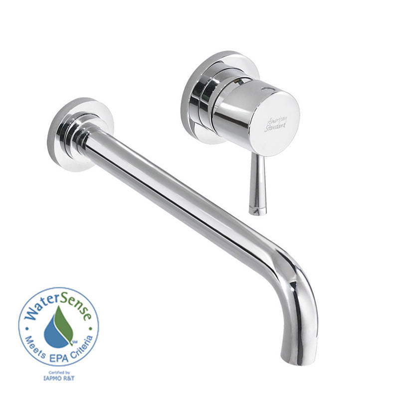 American Standard Serin Wall Mounted Bathroom Faucet with Lever Handle