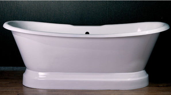 "Cambridge Plumbing 66"" x 31"" Dual Slipper Tub"