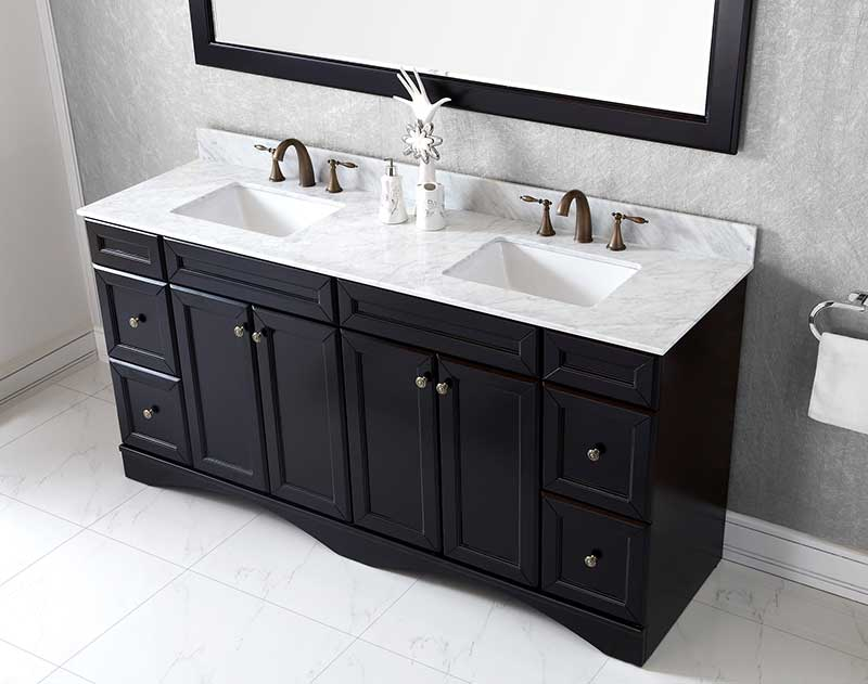 Virtu USA Zuri 39 Single Bathroom Vanity Cabinet Set in Grey 3