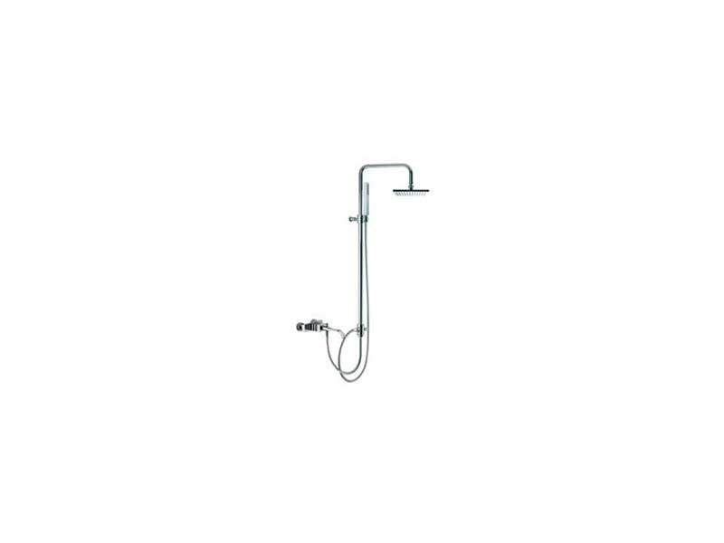 Fima by Nameeks Bio Shock Wall Mount Diveter Tub and Shower Faucet with Hand Shower 2