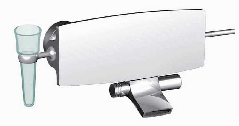 Fima by Nameeks De Soto Wall Mount Tub Only Faucet Trim