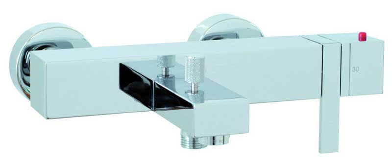 Fima by Nameeks Brick Single Handle Wall Mount Tub Spout Trim