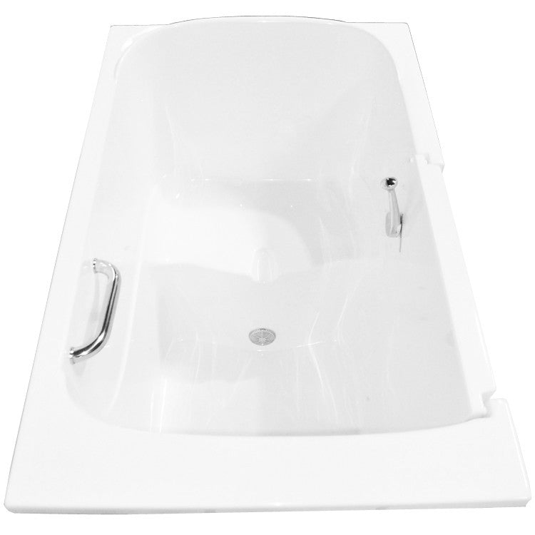 "Eagle Bath 55"" x 35"" Soaking Bathtub 4"