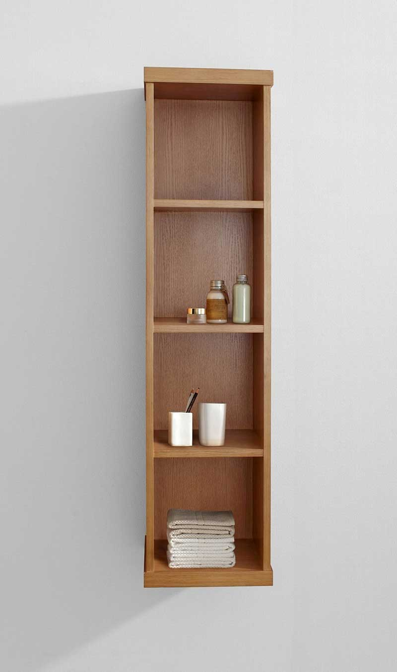 Virtu USA Hewitt 12 Modern Side Cabinet in Chestnut 2