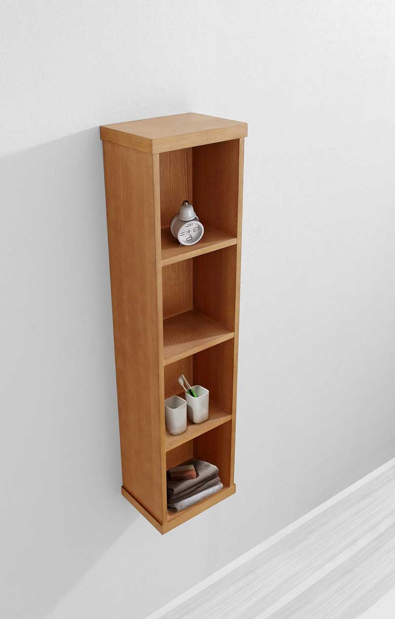 Virtu USA Hewitt 12 Modern Side Cabinet in Chestnut 3