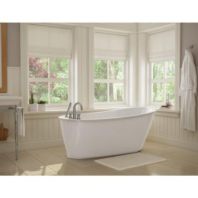 Sax 5 ft. Freestanding Bath Tub 105823 5