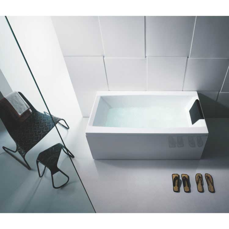 "Glass by Nameeks Eden 71"" x 31.5"" Bathtub"