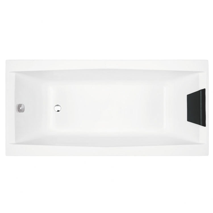 "Glass by Nameeks Eden 67"" x 27.5"" Drop-In Bathtub"