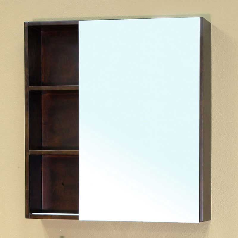 "Bellaterra Home Langdon 29.5"" x 31.5"" Surface Mounted Medicine Cabinet"