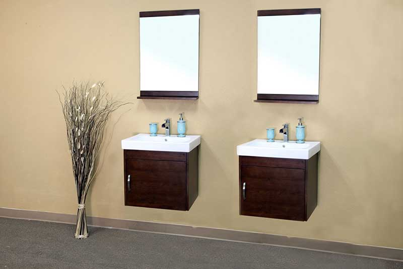 Bellaterra Home Morris Bathroom Mirror 2