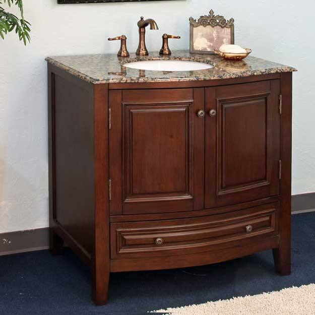 "Bellaterra Home Morgan 36"" Single Vanity Set"