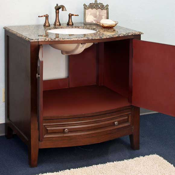 "Bellaterra Home Morgan 36"" Single Vanity Set 2"