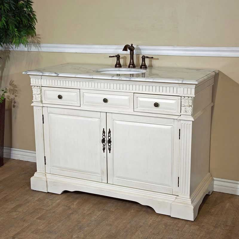 "Bellaterra Home Morgan 50"" Single Vanity Set"
