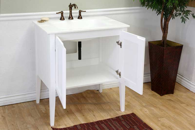 "Bellaterra Home Fairbanks 33.5"" Single Vanity Set 8"