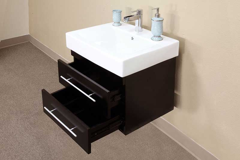 "Bellaterra Home Pickering 24.25"" Single Vanity Set 2"