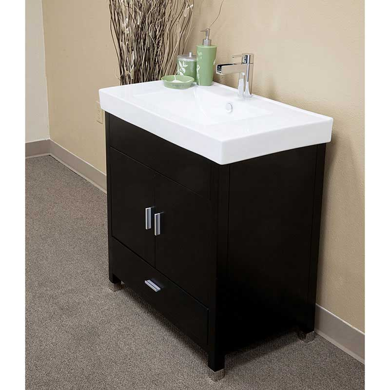 "Bellaterra Home Ramsey 31.5"" Single Vanity Set 2"