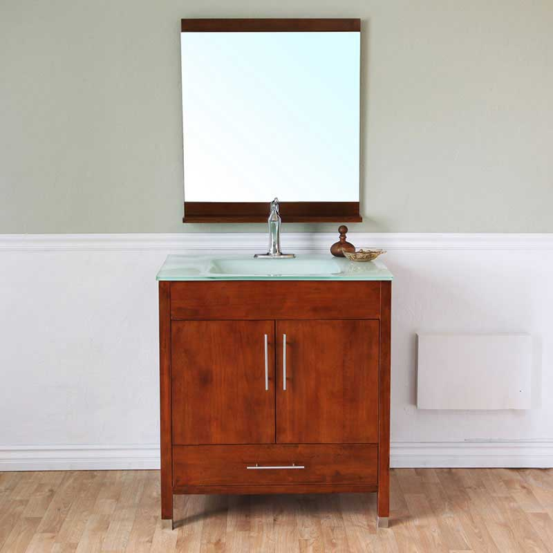 "Bellaterra Home Ewing 32.3"" Single Vanity Set 11"